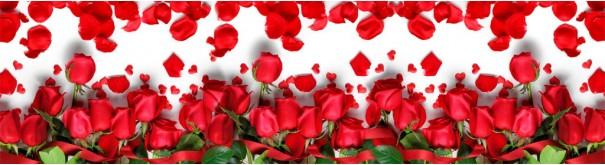 Скинали 'Букет алых роз'