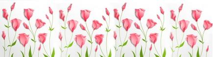 Скинали 'Узор с тюльпанами'