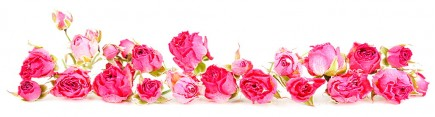 Скинали 'Букет чайных роз'