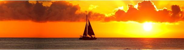 Скинали 'Золотой закат над океаном'