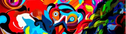 Скинали 'Яркое граффити'