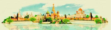 Скинали 'Москва. Акварель'