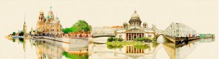 Скинали 'Санкт-Петербург. Акварель'