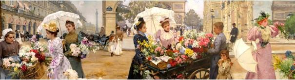Скинали 'Парижские цветочницы 1'