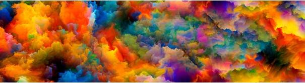 Скинали 'Разноцветная акварель'