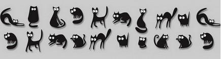 Скинали 'Черный кот'