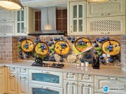 Скинали 'Пирожные с голубикой'