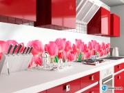 Скинали 'Букет розовых тюльпанов'