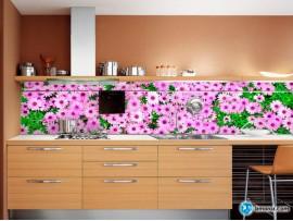 Скинали 'Поле с розовыми цветами'