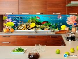 Скинали 'Тропические рыбки'