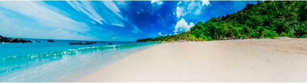 Скинали 'Белый пляжи о.Бали'