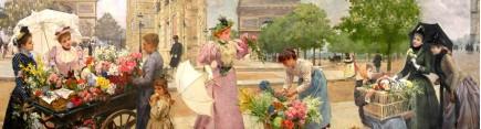 Скинали 'Парижские цветочницы 2'