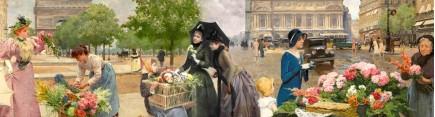 Скинали 'Парижские цветочницы 3'