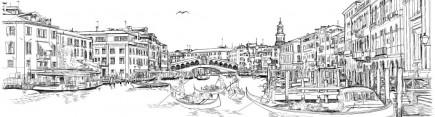 Скинали 'Венеция гравюра'