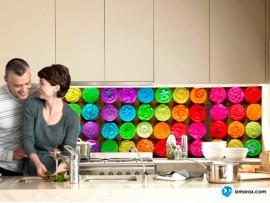 Скинали 'Разноцветные пирожные'